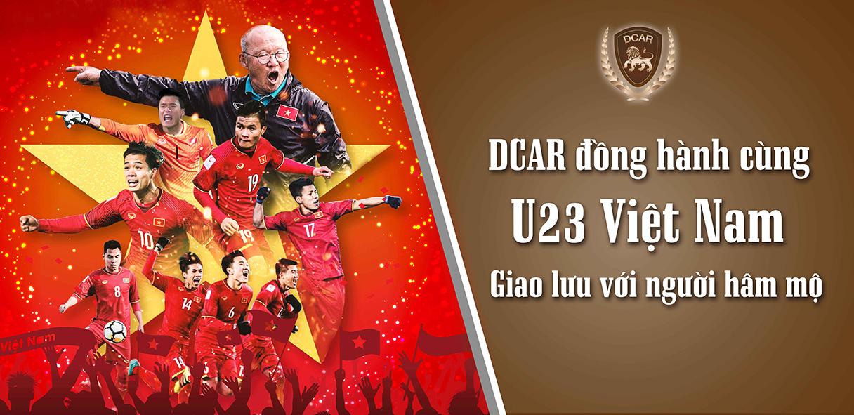 DCar đồng hành cùng U23 Việt Nam