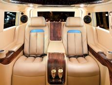 DCar ra mắt xe lấy cảm hứng từ những dòng xe cao cấp của giới thượng lưu