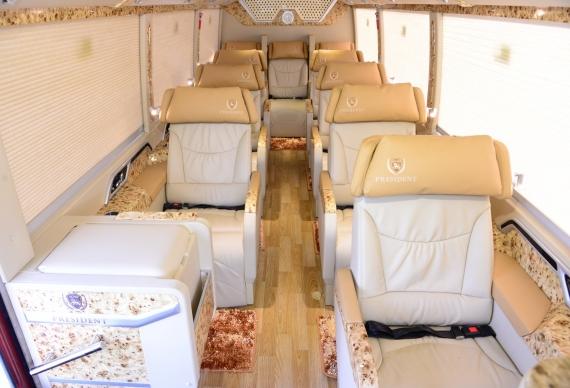 FUSO DCAR PRESIDENT interior white